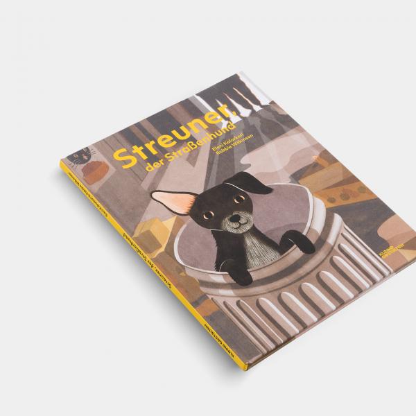 Kinderbuch Streuner, der Straßenhund