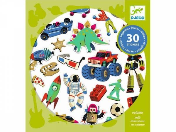 Sticker - Retro Toys