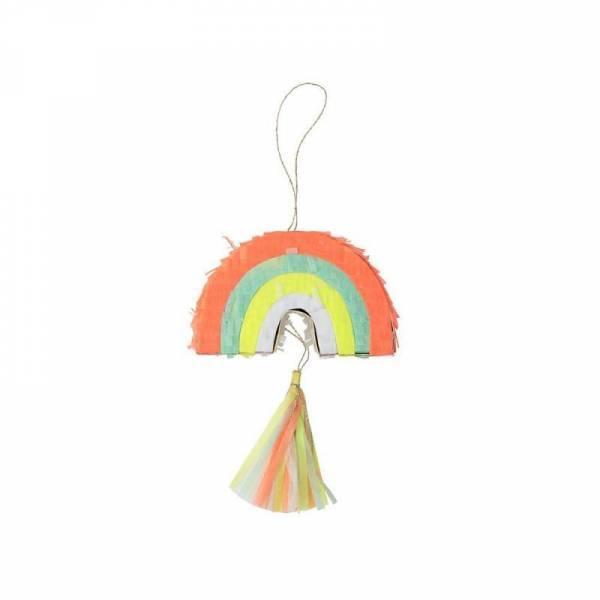 Kleine Regenbogen Piñata - 3er Set