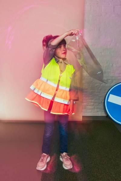 Reflektorweste/Leuchtweste Grace Yellow