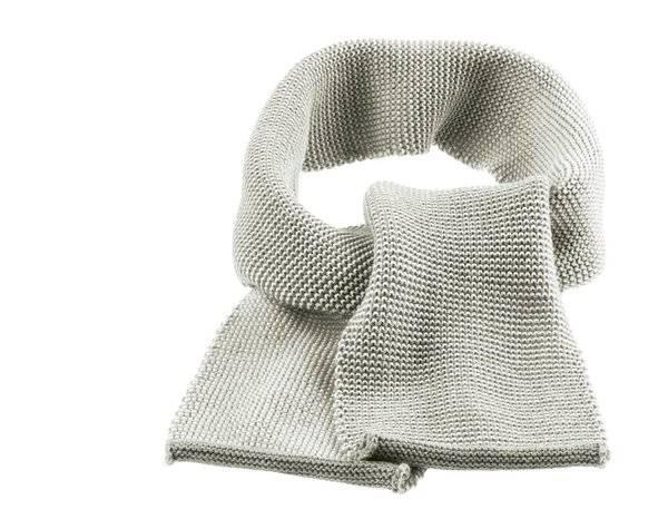 Melange-Schal grau-natur Größe 0 12 x 100 cm