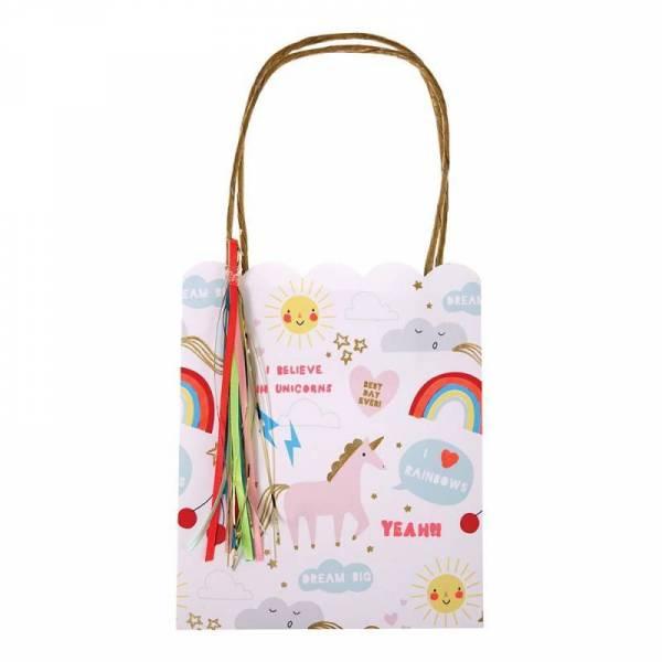 Rainbow & Unicorn Party-Tüten