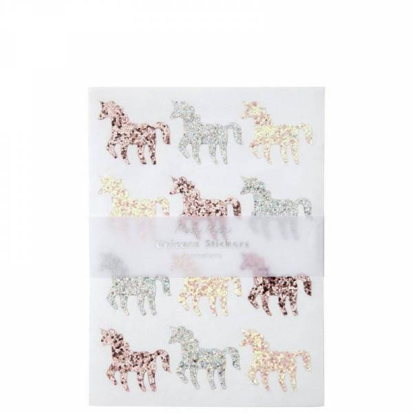 Glitter Unicorn Sticker Sheets
