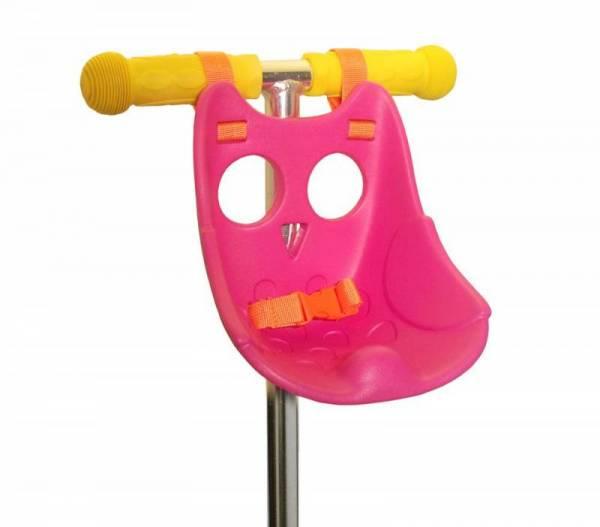 Scootaseatz Eule Puppensitz pink