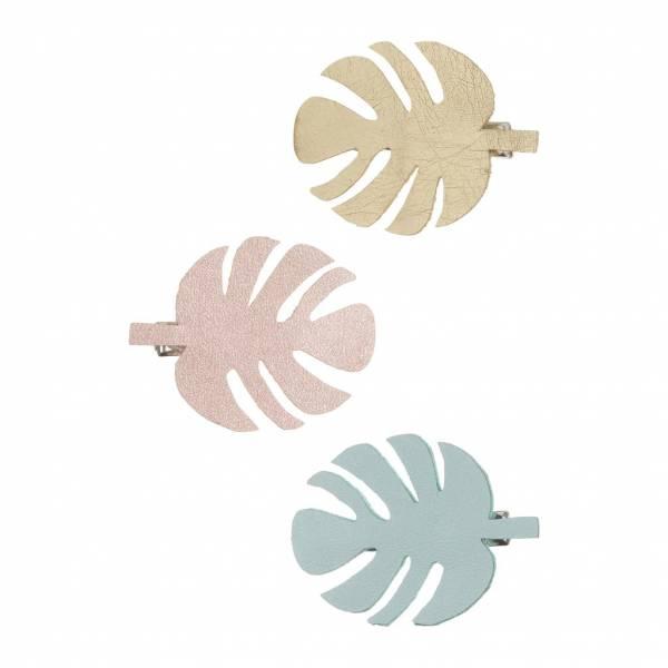 Palm Leaf Haarspangen