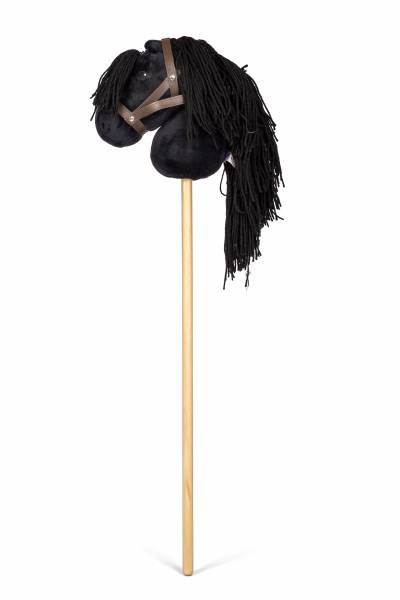 Steckenpferd schwarz