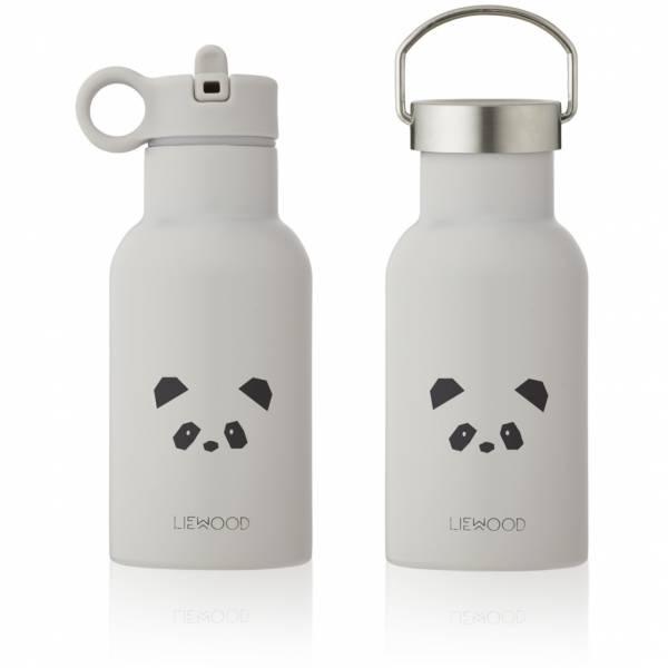 Trinkflasche Anker Panda Light Grey