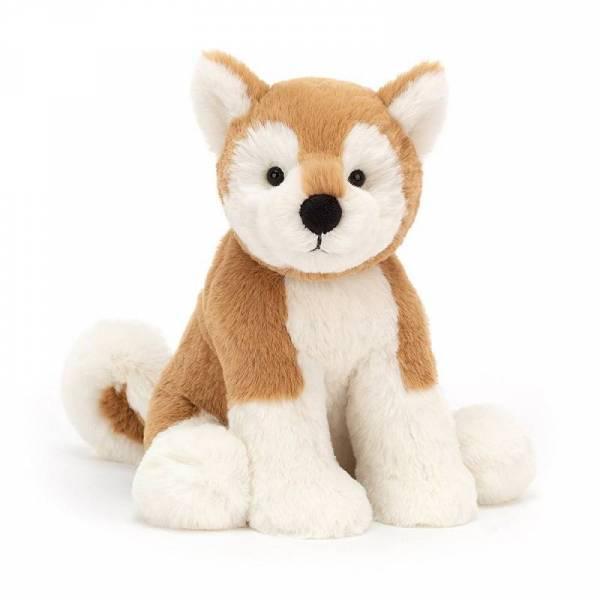Stofftier Hund Milo Shiba Inu medium - H30cm