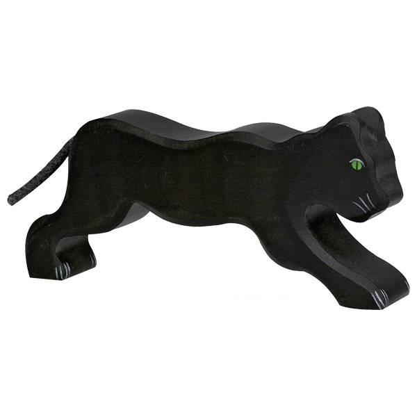 Panther Holzfigur