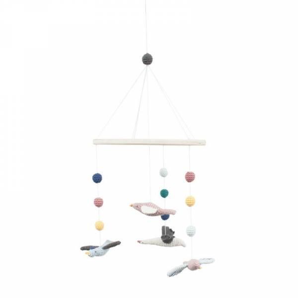 Häkel-Mobile - Singing Birds