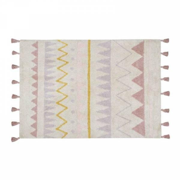 Teppich Azteca Vintage nude - gelb rose 140x200cm