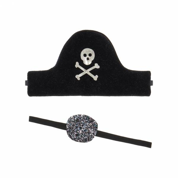 PIRATE DRESS UP SET - Schwarz