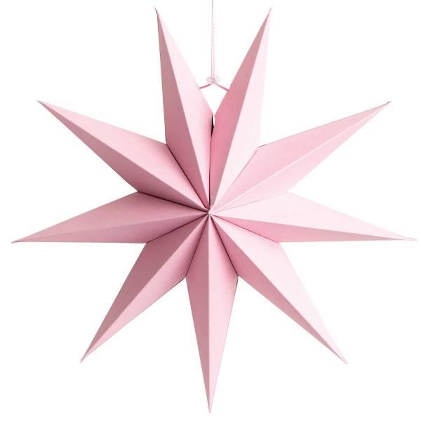 Papierstern Rosa FSC Mix 28cm auffaltbar