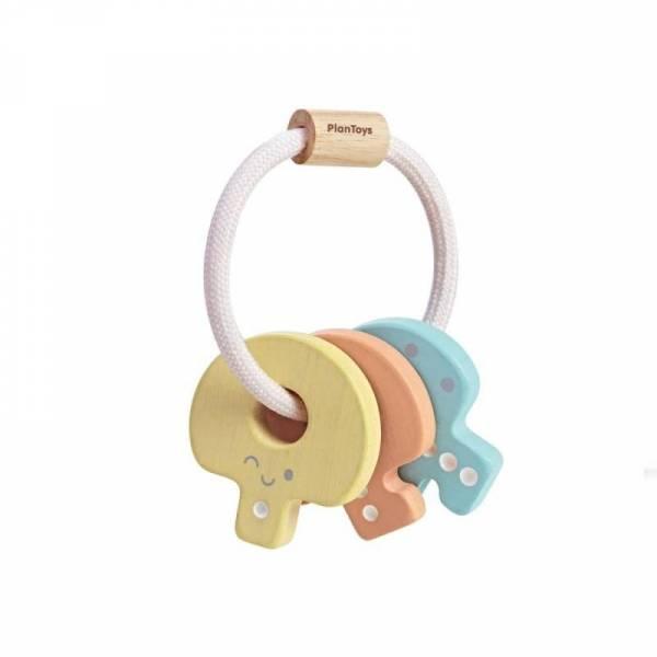 Schlüsselrassel - Pastell