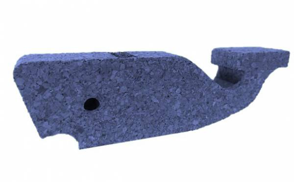 Potwal blau aus Kork