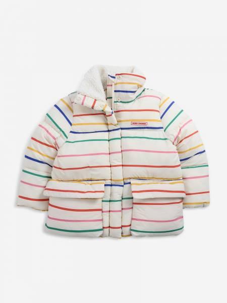 Jacke Stripes multicolor weiß