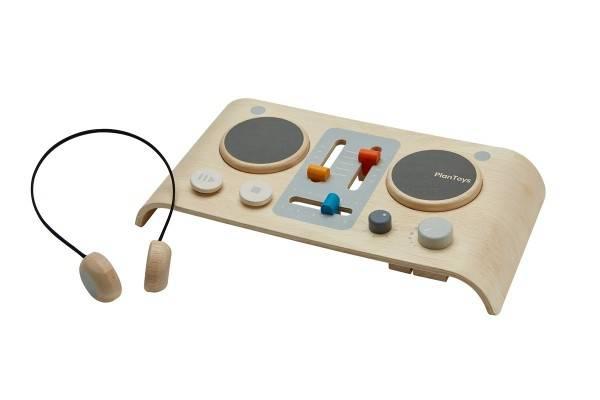 DJ Mischpult aus Holz