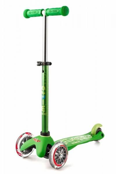 mini micro Deluxe Roller Scooter - grün - 2-5 Jahre