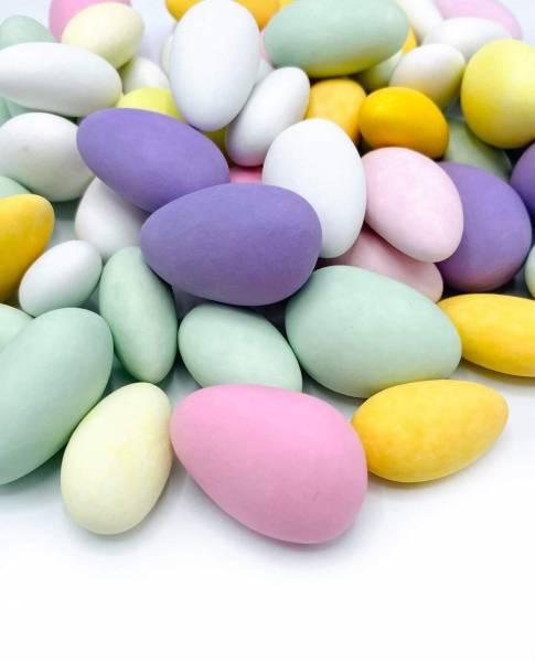 Easter Almonds, Dragierte Mandeln Pastel