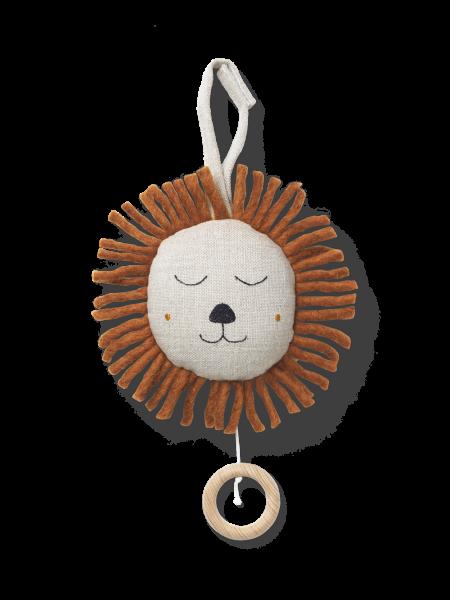 Spieluhr Löwe - Natural