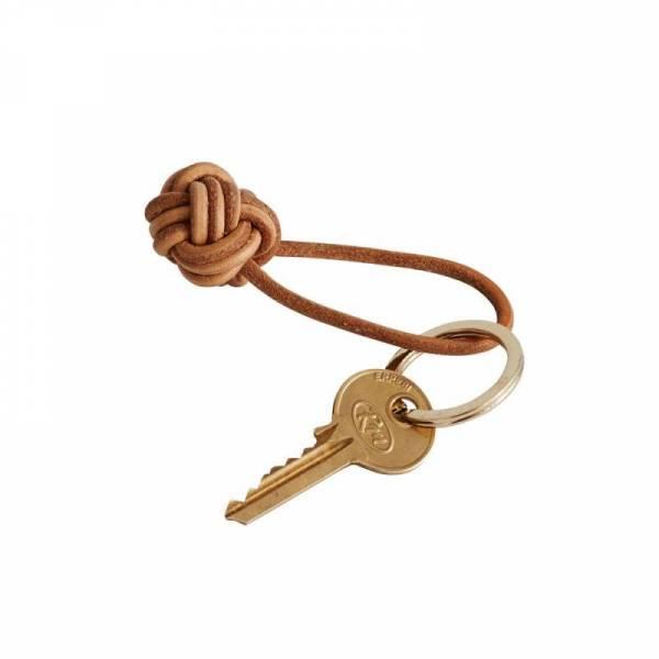 Schlüsselring Knot - leather