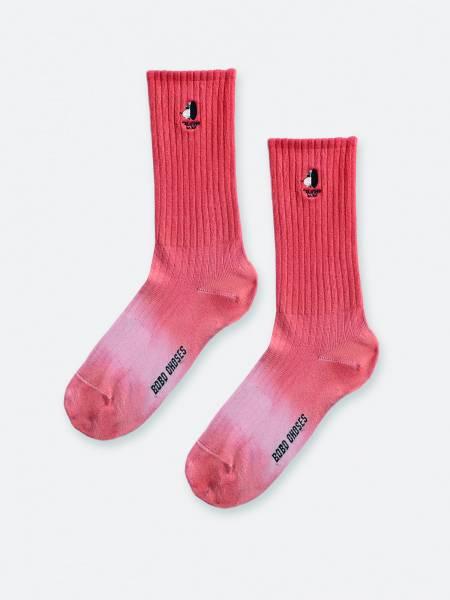 Socken degrade pink