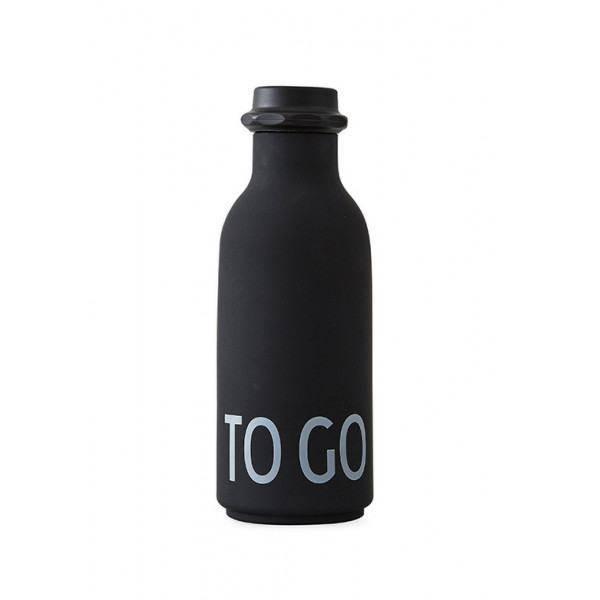 AJ to go water bottle Black