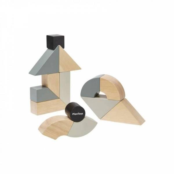 Twisted Blocks Holzklötze