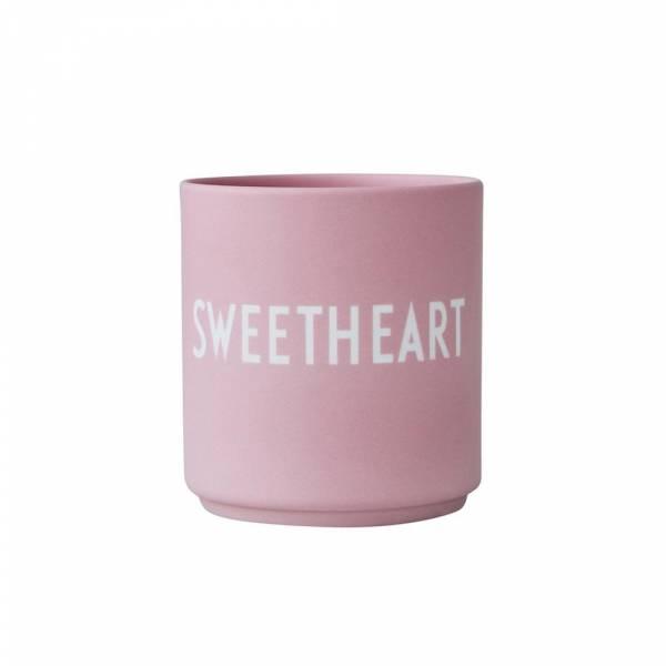Lieblingsbecher SWEETHEART pink