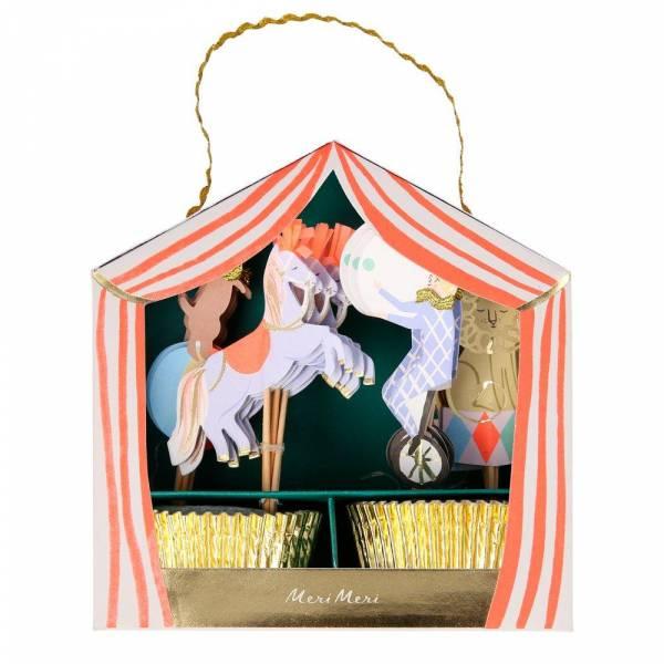 Circus Parade Cupcake Kit